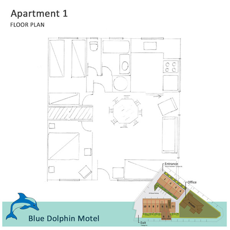 BLUEDOLPHIN-FloorPlan Apartment1-600px